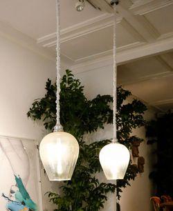 Infinity Hanging Lamp - Snow White