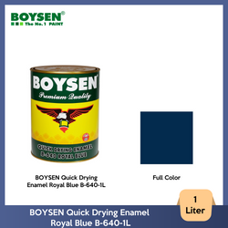BOYSEN Quick Drying Enamel Royal Blue B-640-1L