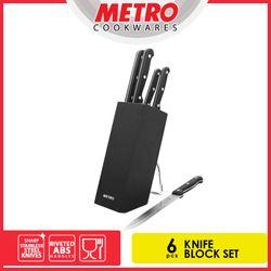 METRO MKB 4649 6PC KNIFE  BLOCK SET