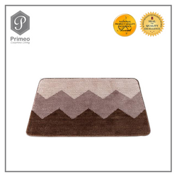 Primeo soft microfiber bath mats Extra absorbent and comfortable, anti slip