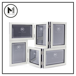 MODERNO Premium Picture Frame Set of 6 White Wood Finish Modern Italian Design Amazing Gift Idea For Any Occasion!
