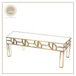 Nest Design Lab Golden Mirror Coffee Table