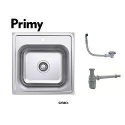 Primy  1 bowl inset kitchen sink w/ Over Flow 0238C1