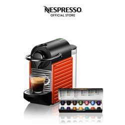 Nespresso® Pixie Red with Complimentary Welcome Coffee Set