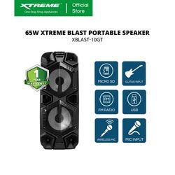 XTREME 65W One Way Portable Speaker System (XBLAST-10GT)