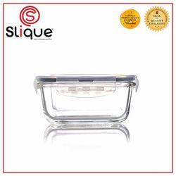 Slique Square Glass Food Container 700ml