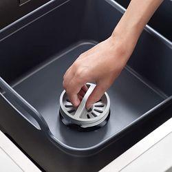 Joseph Joseph Wash & Drain Store Wash Basin Dishpan with Storage Caddy Draining Plug Carry Handles/85138