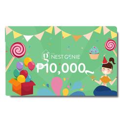 Php10,000 Genie E-Gift Card