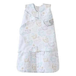Tickled Babies Halo Sleepsack Swaddle  Elephant - Newborn