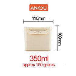 Ankou Multifunction Airtight Mini Milk Storage 350ml Beige