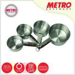 Metro MB 5543 4 pcs Stainless Steel Measuring Cup