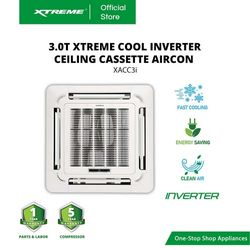 XTREME COOL 3.0T INVERTER Ceiling Cassette Aircon (XACC3i)