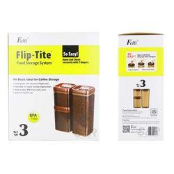Felli Flip-Tite Food Storage System Set 3pcs