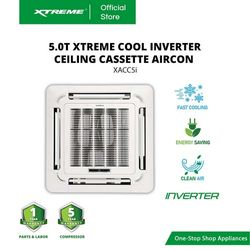 XTREME COOL 5.0T INVERTER Ceiling Cassette Aircon (XACC5i)