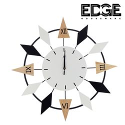 Edge Houseware HD-075 60cm Home Decor Metal Wall Clock Living Room Bedroom fashion Silent Decorative Wall Clock
