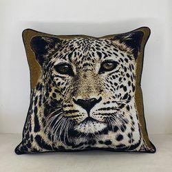 ARQ Curtains Cheetah 18x18 Safari Collections Pillowcase