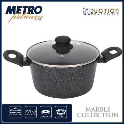 Metro Primera MPCW 1706  20cm Marble Coated Dutch oven