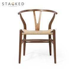 Oslo Wood Chair (Dark Brown)