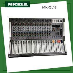 MICKLE MK-GL16 16 Channel Ultra Slim Mixer