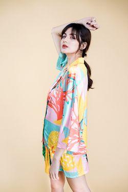 Intissimo Alana Short Silk Pyjama