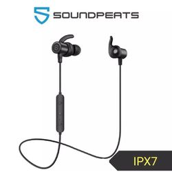 Q30 Plus SoundPEATS Magnetic Wireless Earbuds Bluetooth Headphones Sport In-Ear Sweatproof Earphones with Mic (Super sound quality, IPX6, Bluetooth 4.1, aptx, 8 Hours Play Time, Secure Fit Design)