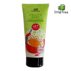 Little Tree Fruity Fresh Toothpaste 12+months Monster Series Apple 70ml