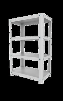 Heavy Duty 4 Shelf Storage Rack - Regular