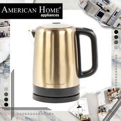 American Home AK-17LC Kettle Champagne 1.7L