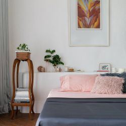 Bamboo Bed Sheets - Blush California King