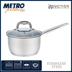 Metro Primera MPCW 1802 18cm Stainless Steel Sauce Pan