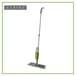 SCRUBZ Heavy Duty Cleaning Essentials Easy Grip Premium Microfiber Spray Mop 35cm x 9.5cm x 120cm