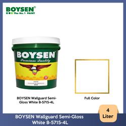 BOYSEN Wallguard Semi-Gloss White B-5715-4L
