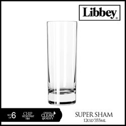 LIBBEY  1661IN   12 OUNCE SUPER SHAM