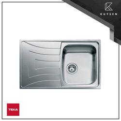Teka Universo Stainless Steel Inset Kitchen Sink Left Drain 1112.0026