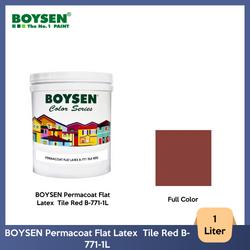 BOYSEN Permacoat Flat Latex  Tile Red B-771-1L