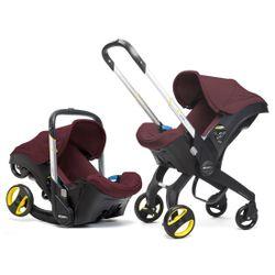Doona Infant Car Seat/Stroller - Cherry Burgundy