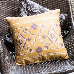Boho Printed Throw Pillowcase