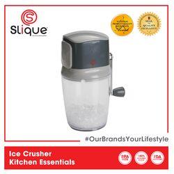 Slique Ice Crusher Shaver Manual Hand Crank Ice Grinder 1500mL