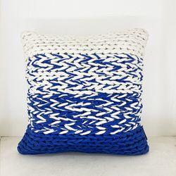 ARQ Curtains Sulawesi 18x18 Pillowcase Marine