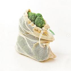 Zippies Organic Cotton Mesh Produce Bags 12 x 15 in.
