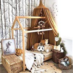 Kiora Kids House Bed Frame - Crib Size Mattress