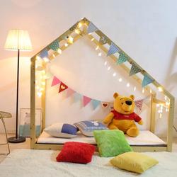 Lukka Kids House Bed Frame - Single Size Mattress