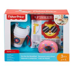 Fisher Price On-the-Go Breakfast Rattle and Teether