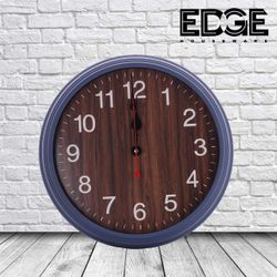 Edge Houseware HD-014 32.5CM BLACK Home Decor Wall Clock Living Room Bedroom fashion Wood Silent Decorative Wall Clock