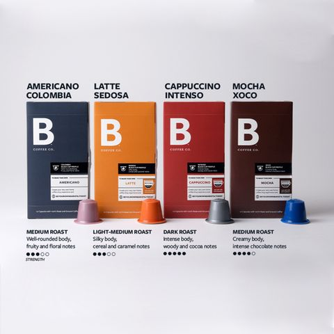 B Coffee Co. Collection Set