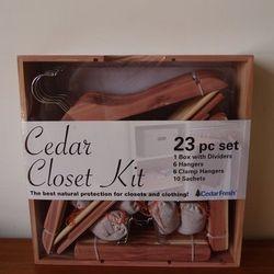 Cedarfresh Closet Kit