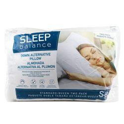 Sleep Balance Down Alternative Pillow Queen 2pc
