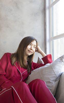 Intissimo Anastasia (Red) Silk Pyjama
