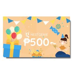 Php500 Genie E-Gift Card