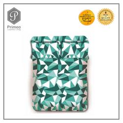 Primeo Premium 220TC King Comforter Set, Aqua Comforter, Fitted Sheet, Pillow Case Set of 4